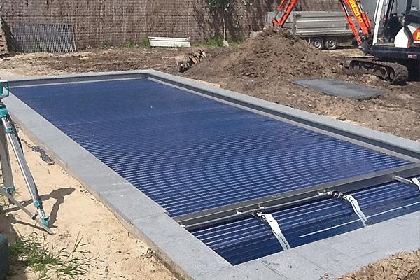 Tuinen deflou tuinaanleg tuinonderhoud aanleg van for Aanleg zwemvijver